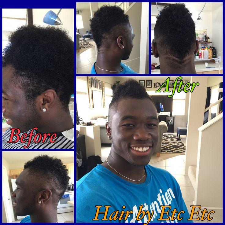 Men's hair cut Odell Beckham Jr. Inspired