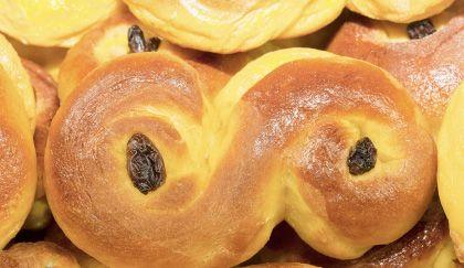 Pane di Santa Lucia, la ricetta svedese per la colazione | Cambio cuoco
