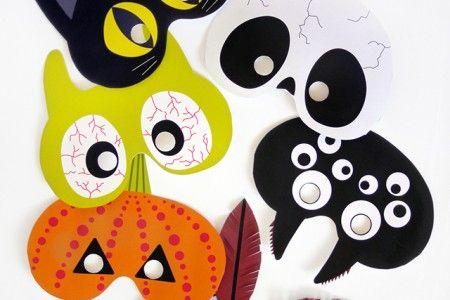 halloween masker gratis mall barn party