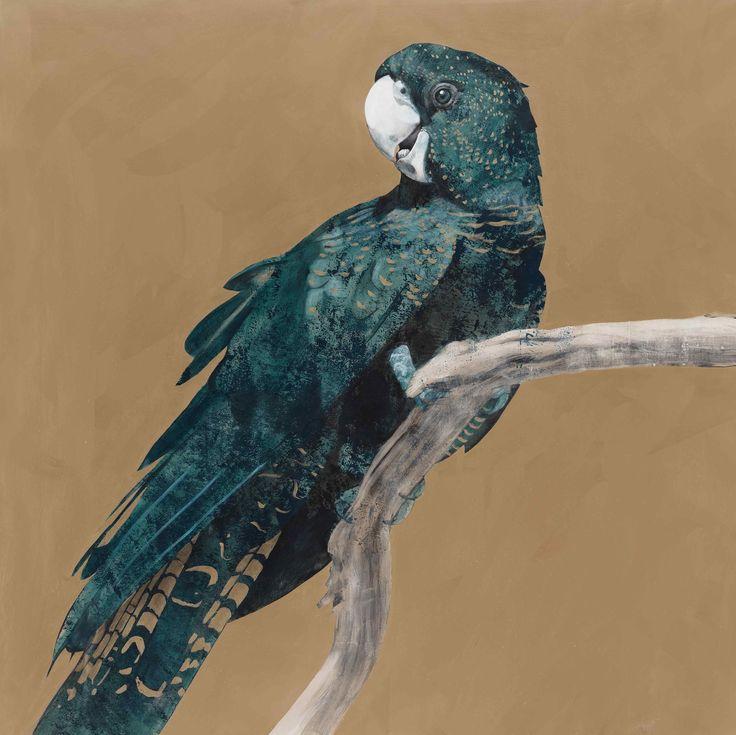 Goldie 190cm x 180cm Acrylic on Canvas Geoffrey Carran 2014