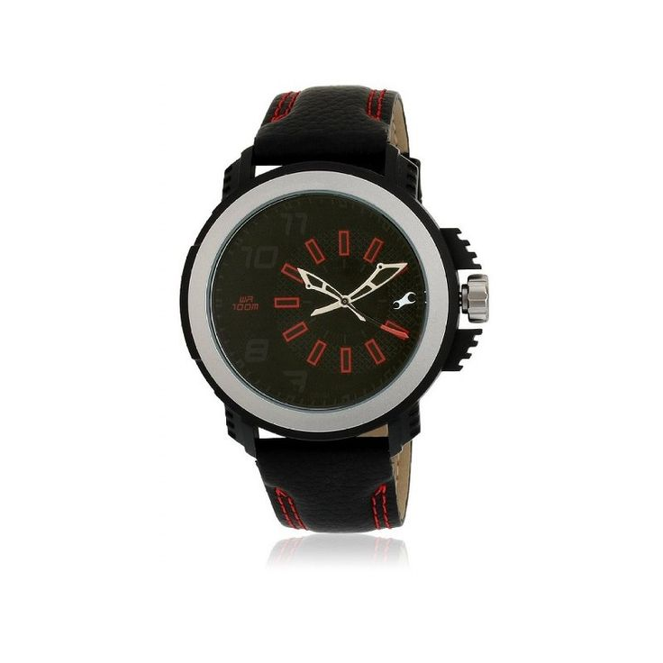 #Fastrack #Black #Dial #Analogue #Watch for #Men (#38015PL02J)  shop now-->> http://goo.gl/zjJcAE