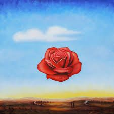 dali rose - Salvador Dali