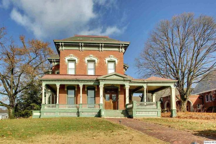 705 best old homes images on pinterest auction facts for Italianate homes for sale