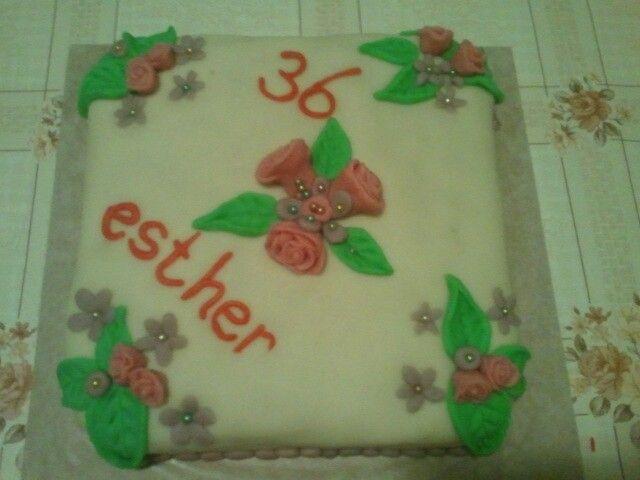 Verjaardags taart