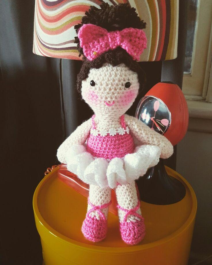 Ballet Baby #dirtygrannycrochet #crochet #crochetdoll #ballet #ballerina