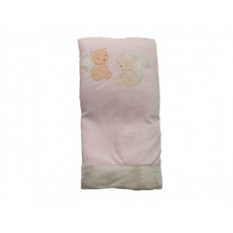 COPERTA IN CINIGLIA DI COCCODÉ Coperta da culla di Coccodè con fodera in ciniglia di colore rosa removibile e interno in calda e morbida ovatta, bordo in orsetto e stampa decorativa con due simpatici orsetti. Coperta Coccodè per riscaldare la tua bambina nelle passeggiate all'aria aperta o come copertina durante le nanne in casa. #coccodè #coperte #neonati #baby #bebè #bimbi #bambina #culla #newborn #girl #babygirl #accessori