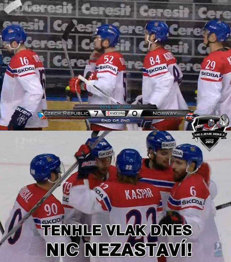 #CZEvsNOR  7-0  #WC2016  12may 2016 Czech train rumbles on  22 Lukas Kaspar 2 G  62 Repik G  am I supposed to remember all this? https://www.facebook.com/MilujemeHokej/photos/a.323338714402450.70410.323069101096078/1012487712154210/?type=3
