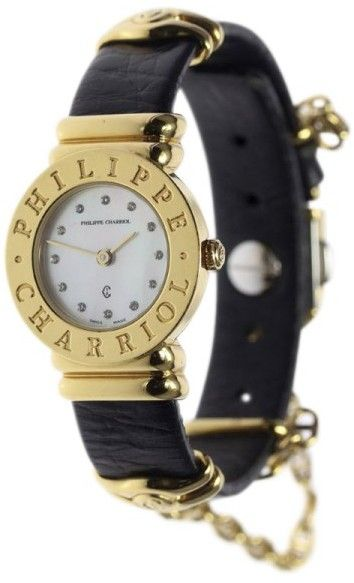 Philippe Charriol St. Tropez 6337495 Stainless Steel Quartz 24.5mm Womens Watch