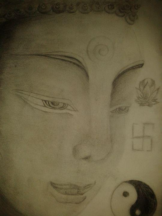 Sidhartha - Artwork by Justin Strickland