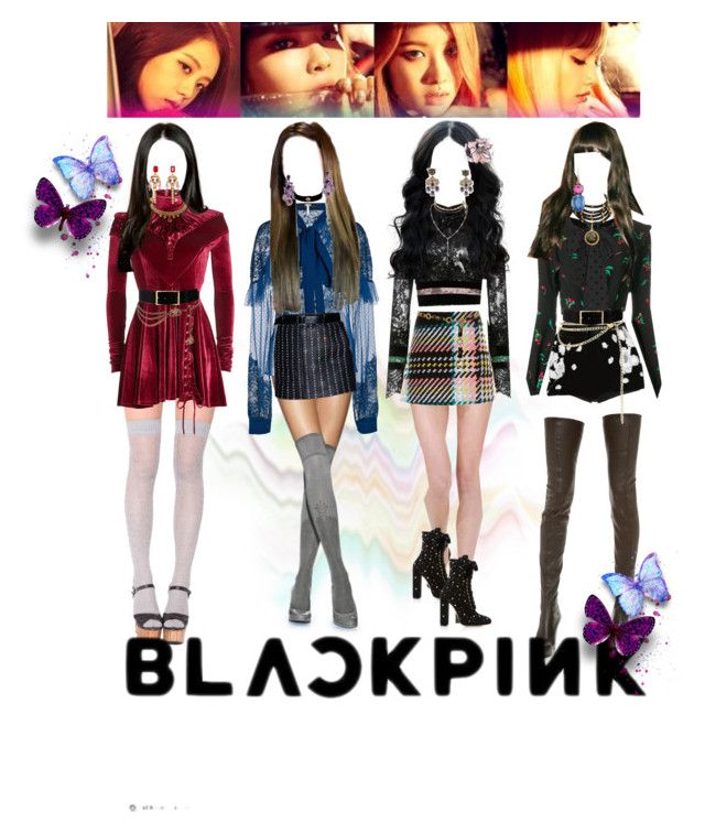 Blackpink Playing With Fire Kpop Inspired Fashion In