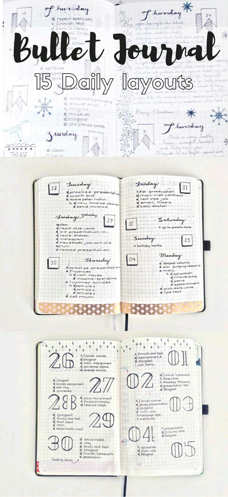 daily journal a day in my Bullet journal: my daily planning routine just under a year ago, i shared my daily planning routine over on youtube  although my process has remained very much the same, i still get a lot of questions about my routine, so i'm sharing an update with you here today.