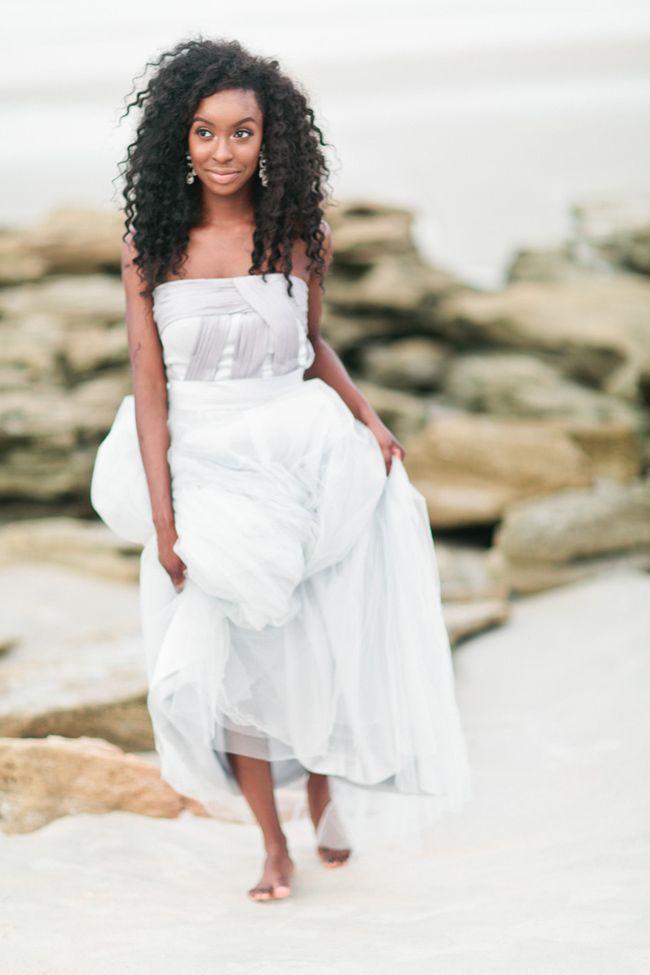 Elegant Fall Beach Wedding I Debra Eby Photography