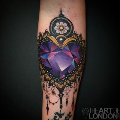 traditional gem tattoo - Google Search                                                                                                                                                                                 More