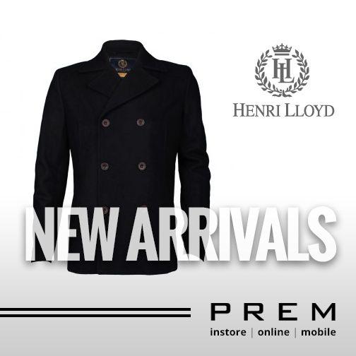 Mens Henri Lloyd Norden Pea Coat Jacket  £175.00  http://menswearshop.co.uk/mens-henri-lloyd-norden-pea-coat-jacket.html