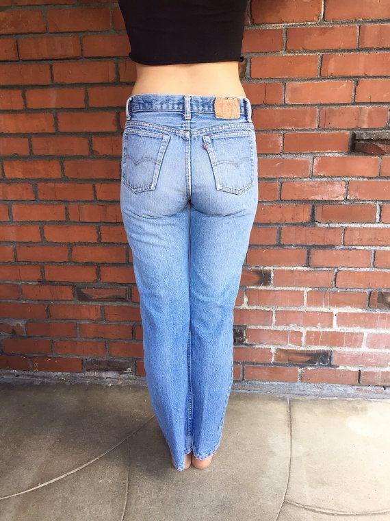 levis 501 jeans 29 waist high waisted mom jeans levis 701. Black Bedroom Furniture Sets. Home Design Ideas