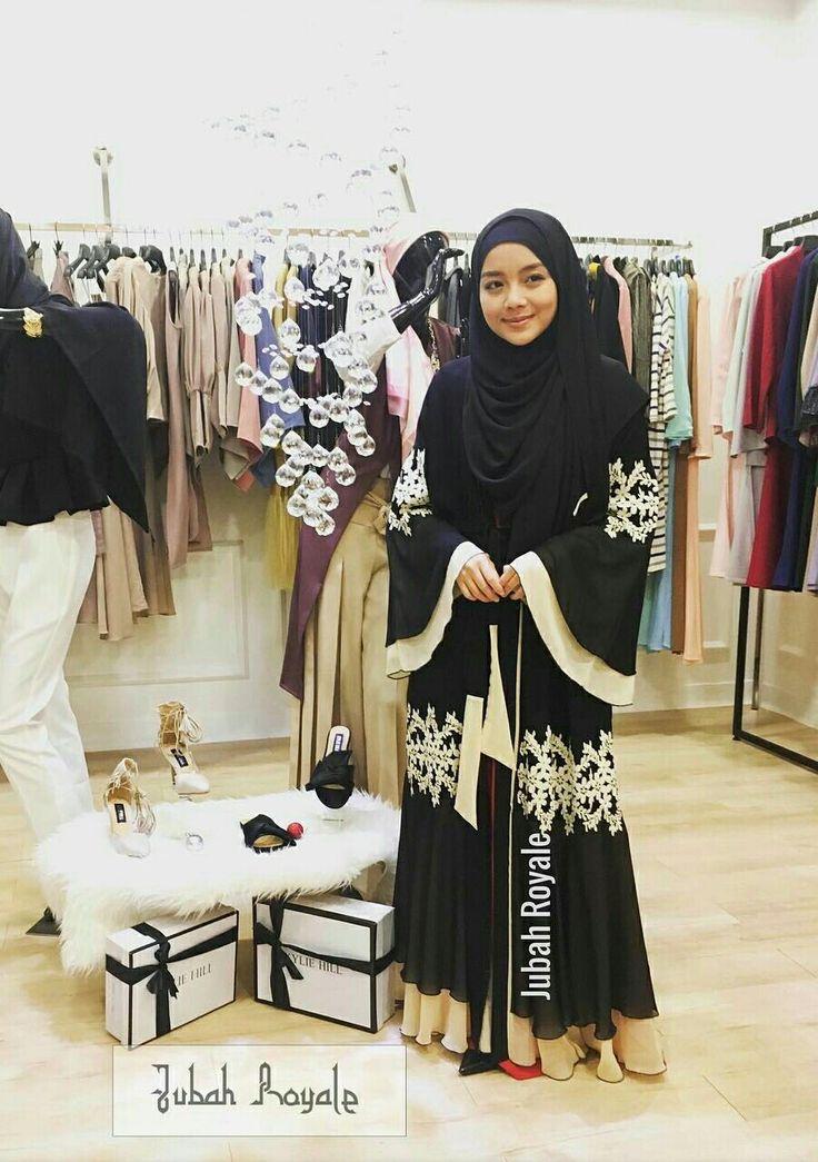 Jubah & hijab @Jubah Royale with Mira Filzah