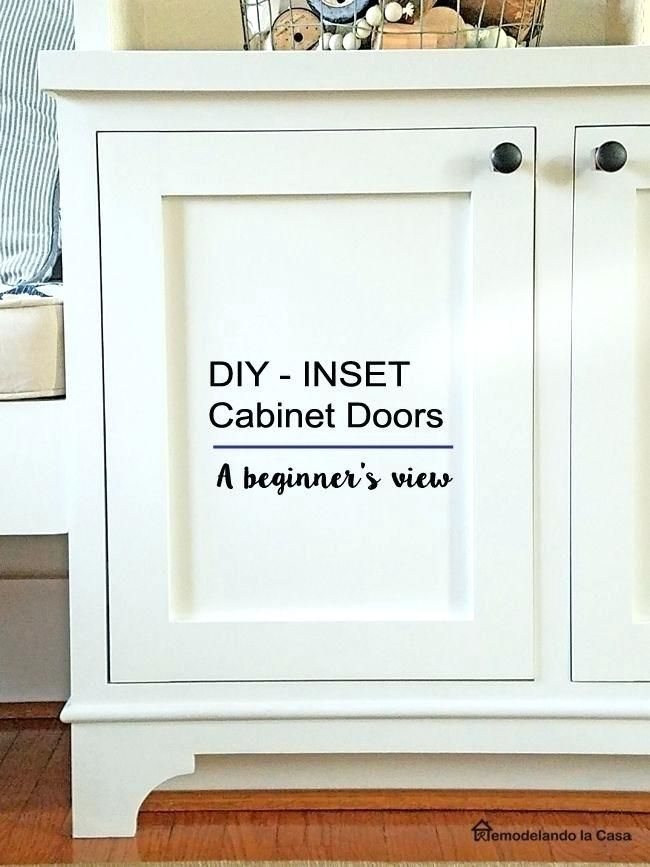Diy Shaker Doors Cabinet Inspirational Inset A Beginner S Way Of Fresh Cupboard
