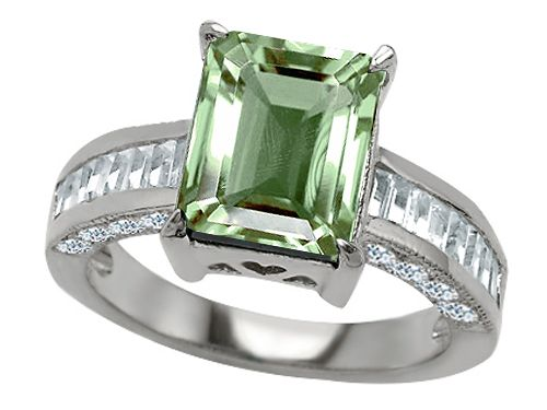 Green Amethyst Ring Style Number: 27233 - Finejewelers.com