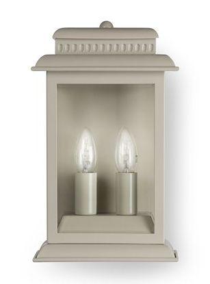 Belvedere Lamp Cream - £135.00 - Hicks and Hicks