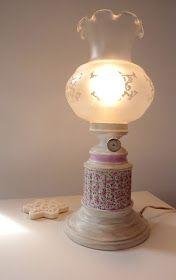 Telas, Cajas y Tinajas: lámpara clásica de sobremesa (I)