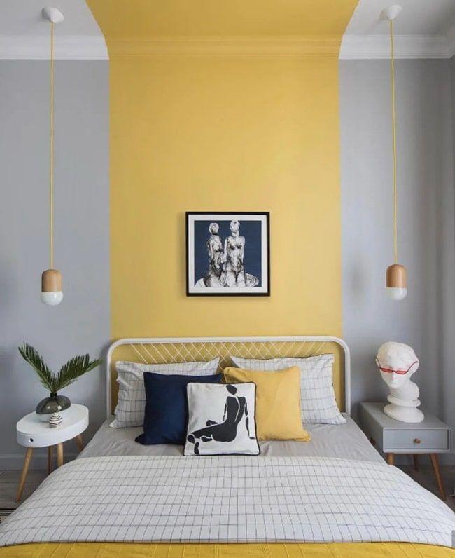 Colores tendencia en decoración Home Decor Kitchen, Home Decor Bedroom, Bedroom Wall, Diy Home Decor, Bed Room, Bedroom Modern, Bedroom Ideas, Ikea Bedroom, Gray Bedroom