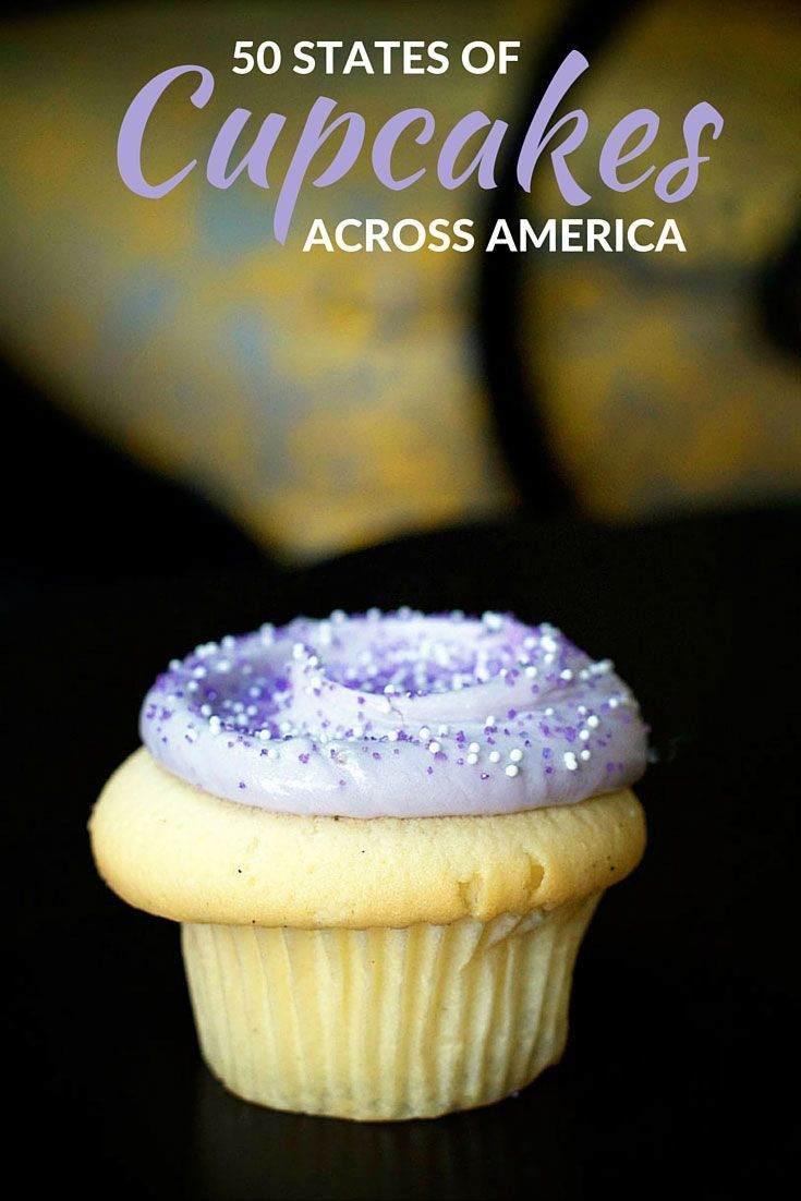 50 States of the Best Cupcakes in America, as figured out by a very unsientific tasting study... the best kind of research.