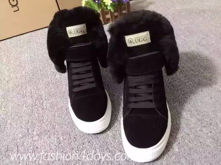Image of Black Ugg Sneakers