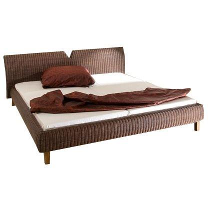 Ein traumhaftes #Rattanbett im zeitlosen #Look. Für ein elegantes #Flair in Deinem #Schlafgemach! ♥ ab 319,00 €