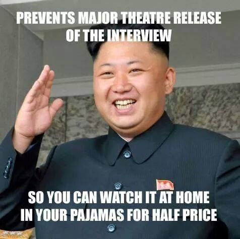 Prevents Release of The Interview #Funny, #Interview, #Korea, #Movie