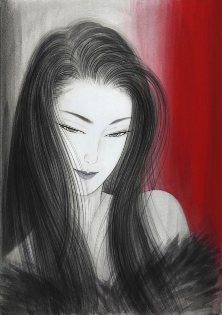 Ichiro Tsuruta 鶴田一郎, 1954   Bijin-ga Art / Japanese beauty   Tutt'Art@