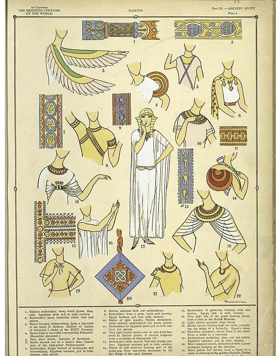 Egyptian Sleeves 1926~27         ([1926-1927])