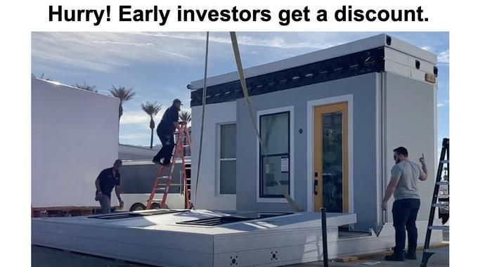 Invest In Boxabl One Hour House Mass Production Of Upscale Affordable Housing Wefunder In 2020 Traditional Building Building Systems Affordable Housing