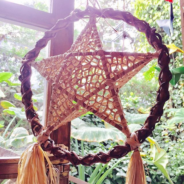 Christmas is not yet over in this side of the world. Parol is a traditional Christmas lantern made of combination of indigenous and artificial materials. #longestchristmasintheworld #pasko #parol