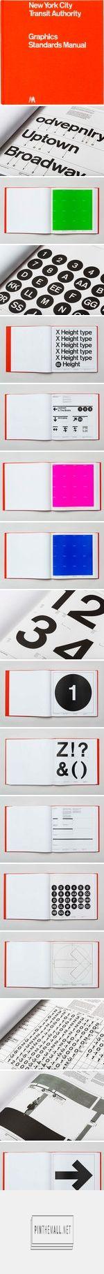 NYCTA Graphics Standards Manual reissues https://standardsmanual.com/