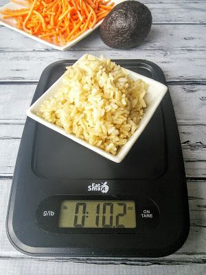 """""""You can also weigh food in a dish as the scale has a cool Tare Feature so that you can put an empty container on and reset it to 0 to get an accurate weight of what you put in that container."""" Mom Knows Best Review: EatSmart Precision Digital Kitchen Scale."""
