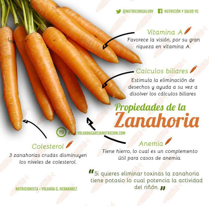 Propiedades-de-la-zanahoria - 12 razones para consumir zanahoria