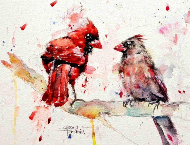 Gerard Hendriks - 6148 Rode Kardinalen