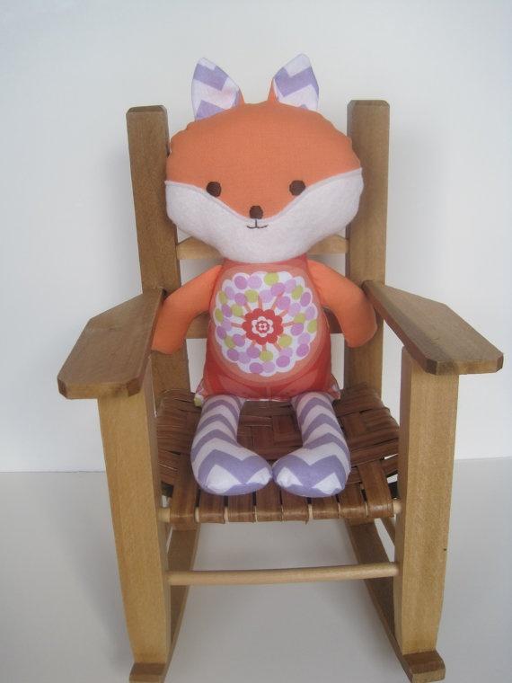 Violet the Handmade Fox
