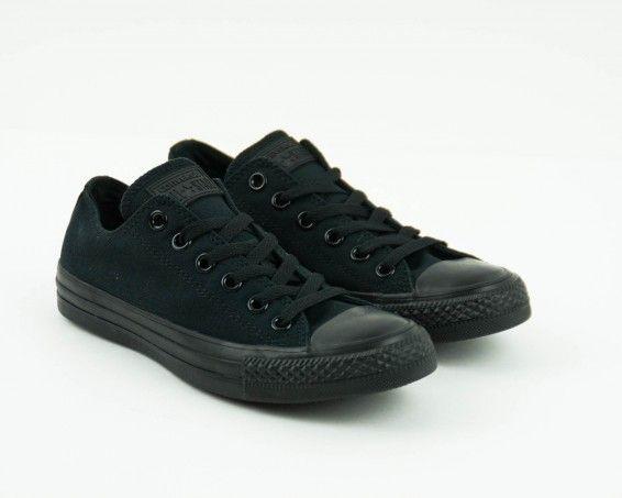 Zapatilla Converse negra