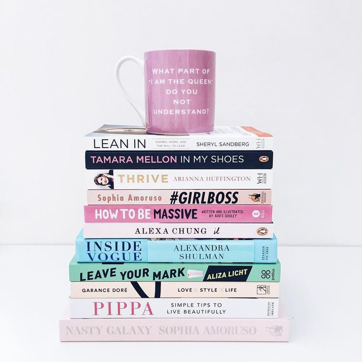 Need some New Year inspo? Whether its fashion or badass business ladies that float your boat.We've got you sorted.-Lean in By Sheryl Sandberg-In My Shoes By Tamara Mellon-Thrive By Ariana Huffington-#GIRLBOSS By Sophia Amoruso-How To Be Massive By Aoife Dooley-It By Alexa Chung -Inside Vogue By Alexandra Shulman -Leave your mark By Aliza Licht -Love x Style x Life By Garance Dore -Simple Tips to Live Beautifully By Pippa O'Connor-Nasty Galaxy By Sophia Amoruso. Shop at…