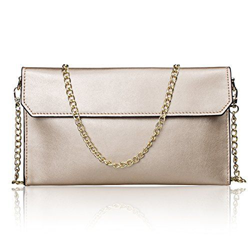 New Trending Clutch Bags: S-ZONE Womens Genuine Leather Evening Envelope Clutches Handbags Shoulder Bag. S-ZONE Women's Genuine Leather Evening Envelope Clutches Handbags Shoulder Bag   Special Offer: $19.99      222 Reviews S-ZONE Geniune Leather Womens Evening Envelope Clutch Bags Brand: S-ZONE Department: Women Dimension(L*W*H): 10.2″X 6.1″X 0.78″ Weight: 10...