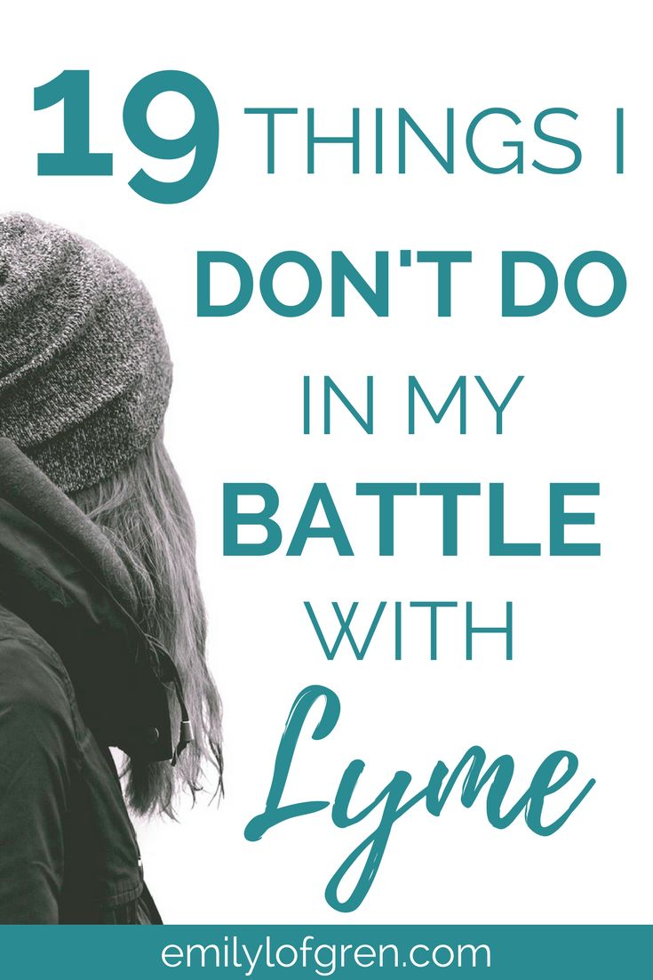 Lyme Disease and Chronic Illness