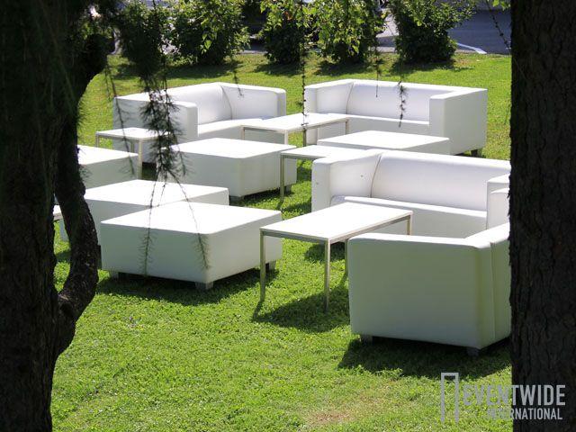 #Eventwide, #Möbelverleih, Lounge White