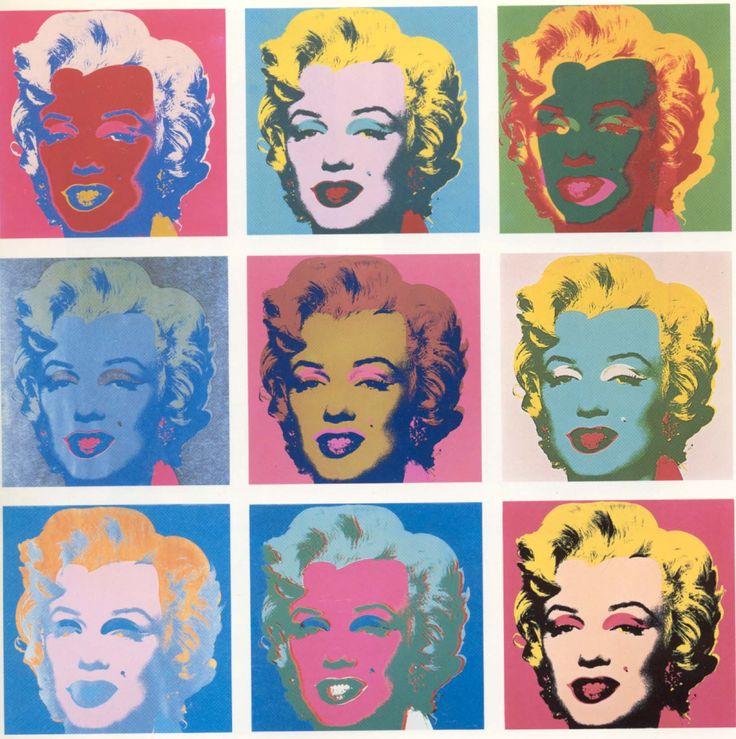warhol Marilyn's