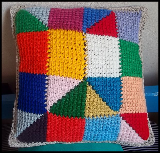 Ravelry: LizzyNeder's Tunisian Pillow