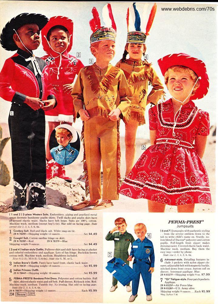Kids Western Wear 1970 Part 3