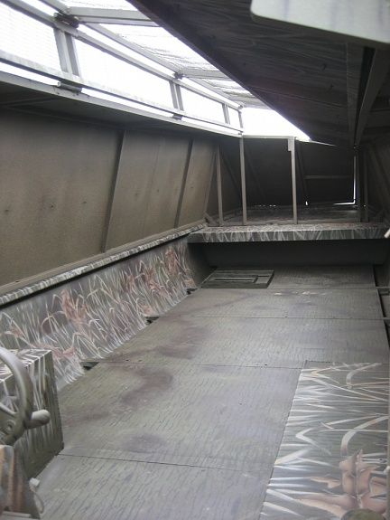 Image result for Homemade Hard-Sided Duck Boat Blind