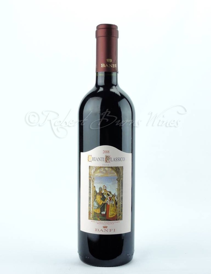 Chianti Banfi 2008 Wine  Great with red meats