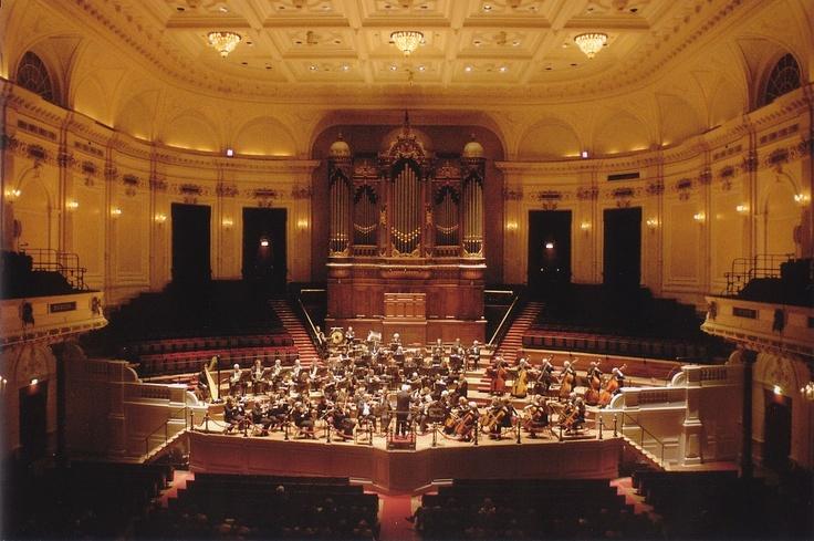 Het Concertgebouw Amsterdam is considered one of the finest concert halls in the world.