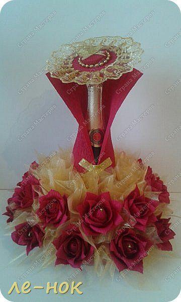 Свит-дизайн Моделирование конструирование Дама в красном Бумага гофрированная Продукты пищевые фото 1